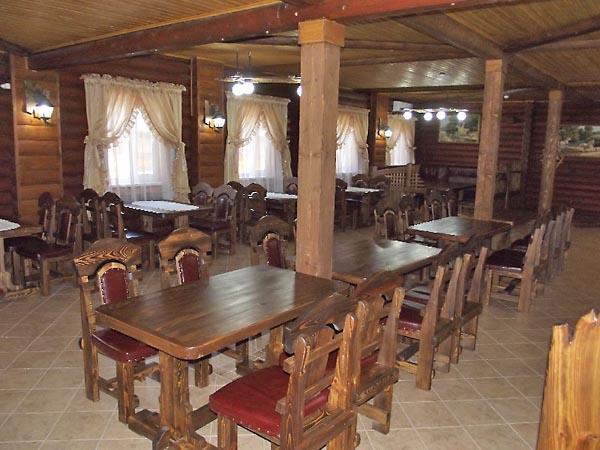 Дизайн в кафе под старину